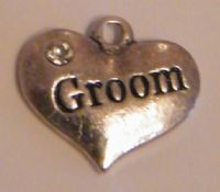 Groom Bookmarks - Charm Style